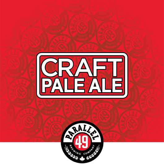 Craft pale ale hero shot